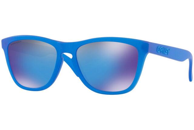 19c292c531 oo9013-C7 55 Oakley Sunglasses Frogskins X-Ray Blue Prizm Sapphire Iridium