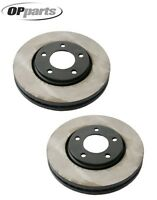 Chrysler Town & Country Pair Set Of Front Disc Brake Rotors Original Performance