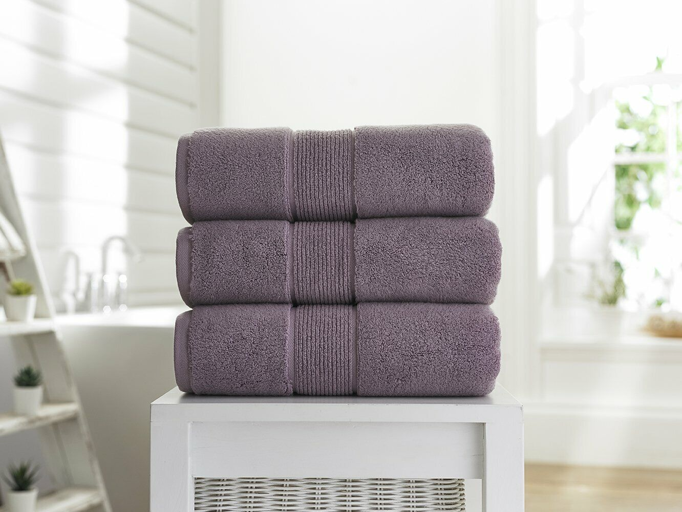 Deyongs Winchester 700gsm Bath Towel and Hand Towel - Lavender