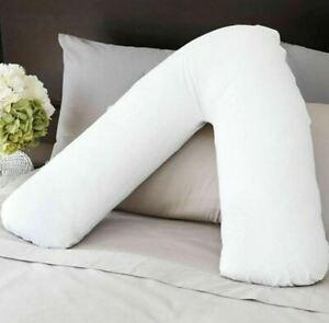 Back Neck Support V Shaped Orthopaedic Nursing Pregnancy Poly cotton Pillowcase