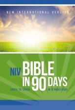 The NIV Bible in 90 Days : Cover to Cover in 12 Pages a Day (2015, Paperback)