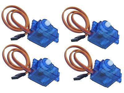 4x Micro Rc Mini Servo 9g Sd T Rex 450 Sg90 Ae09 0,1sec 1,4kg 4,8v/1,6kg 6v-mostra Il Titolo Originale Lieve E Dolce