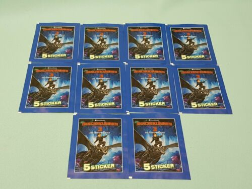 50 Sticker Dragons Blue Ocean Drachenzähmen leicht gemacht 3 10 Tüten