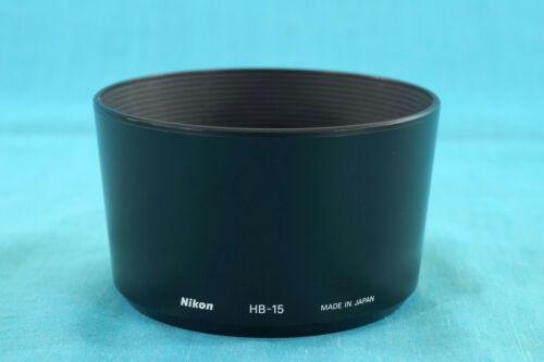 Nikon hb-15 oscurecidos lens Hood para AF 70-300mm f//4.0-5.6 D