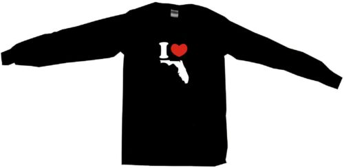 I Heart Love Florida Silhouette Womens Tee Shirt Pick Size Color Petite Regular