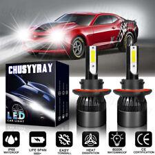 H13 9008 LED Headlight Kit Bulb MN High Low Beam For Chevrolet Camaro 2013-2010