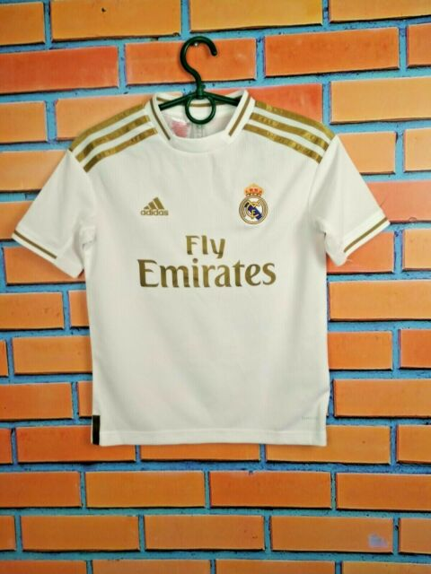 Real Madrid Jersey 2019 Home Kids Boys 9-10 y Shirt Football Adidas DX8841