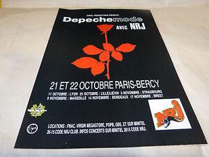 Depeche-Mode-Pubblicita-di-Rivista-Pubblicita-Concerti-Ottobre-Paris