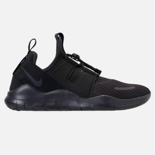 Mens Nike Free RN CMTR 2018 Running Shoes Black Dark Grey Gray AA1620 002