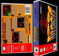 Doom 64 - N64 Reproduction Art Case/box No Game.