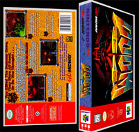 Doom 64 - N64 Reproduction Art Case/box No Game.