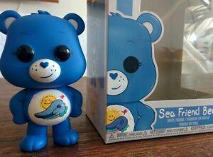 Classic-UK-Exclusive-SEA-FRIEND-Custom-Painted-FUNKO-POP-Care-Bears-Figure-Toy