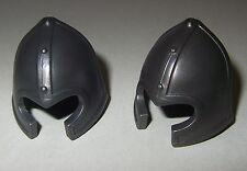 06013, 2x Helm, Beckenhaube, antrazit