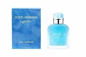0bff5c7818c2 Dolce   Gabbana Light Blue Eau Intense 3.3oz 100ml Eau de Parfum ...