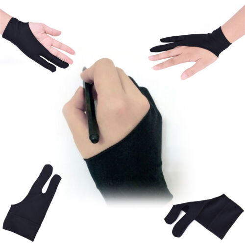 3x Professional Free Artist Drawing Glove for Graphic Tablet Right// Left Hand