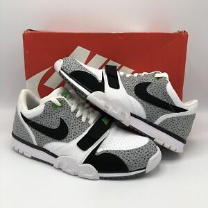 free shipping famous brand more photos Details about Nike Air Trainer 1 Low ST Grey White Safari Cement Size 11  637995 100 Jordan Bo