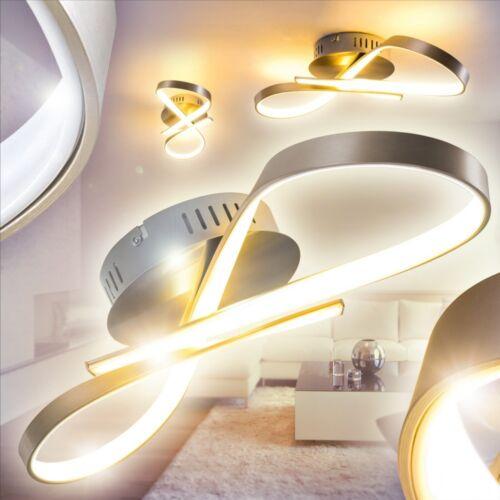 LED Design Deckenlampe Flur Küchen Welle Leuchten Schlaf Wohn Zimmer Lampe Diele