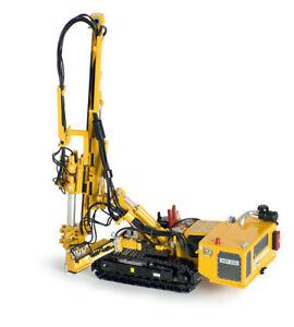 NEW-ROS-210-4Y-Hutte-HBR-605-Hydraulic-Drilling-Rig-Yellow-1-50-Die-cast-MIB