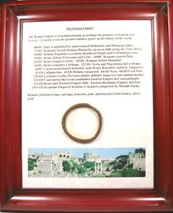 Authentic-Ancient-100AD-Bronze-Greek-Roman-Macedonia-Macedon-Bracelet-Plaque
