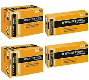 Duracell AAA and AA Industrial Battery, Pack of 20