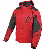 Speed And Strength Urge Overkill Motorcycle Jacket Red