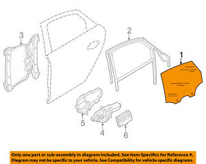 image is loading audi-oem-11-15-a8-quattro-glass-rear-