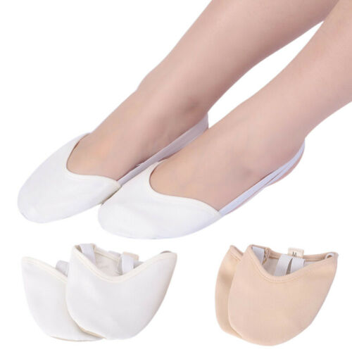 Womens Ballet Shoes Anti-slip Half Socks Comfortable Soft Ballet Shoes Girls