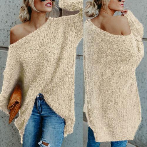 Winter Oberteile Pullover Herbst Damen Casual Pullover Bluse Strickwaren