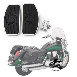 Front-Floorboard-Footboard-Para-Honda-VTX-1800-1300-Suzuki-VL800-VL400-C50-ES