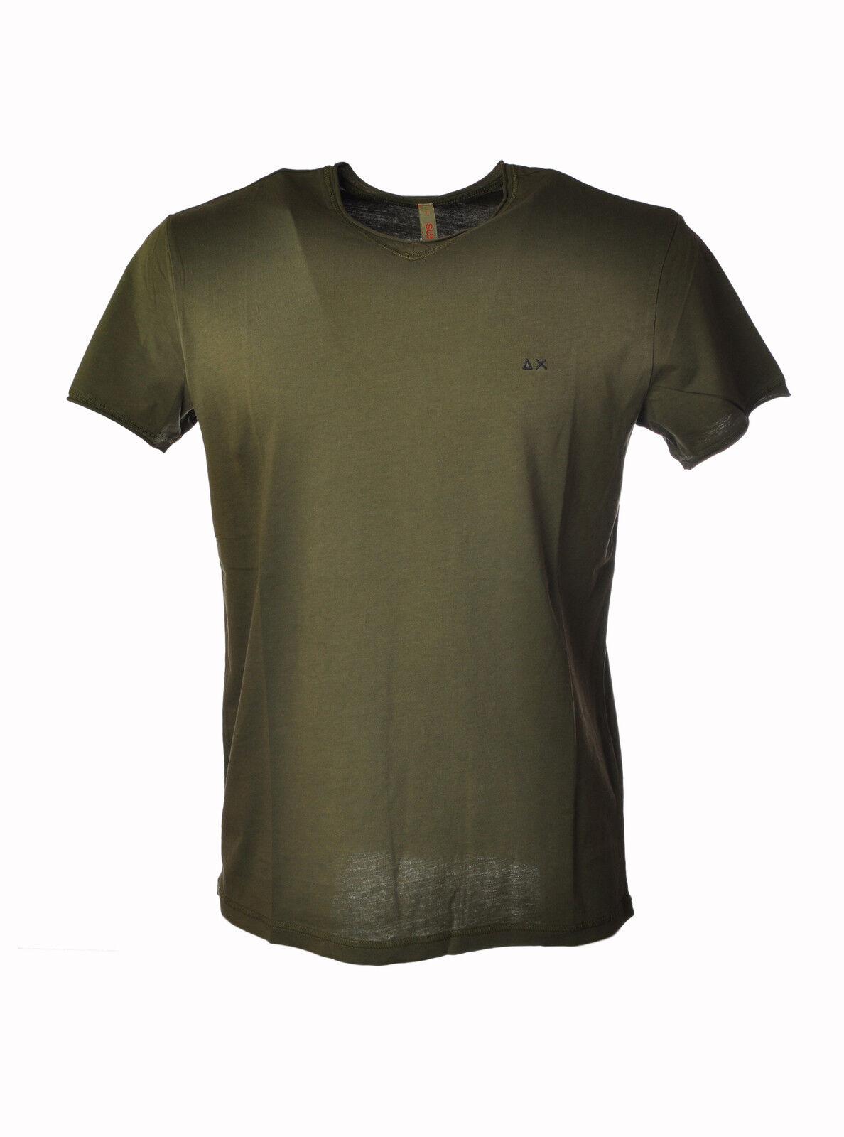 Sun 68 - Topwear-T-shirts -  Herren - Verde - 3200925E184154