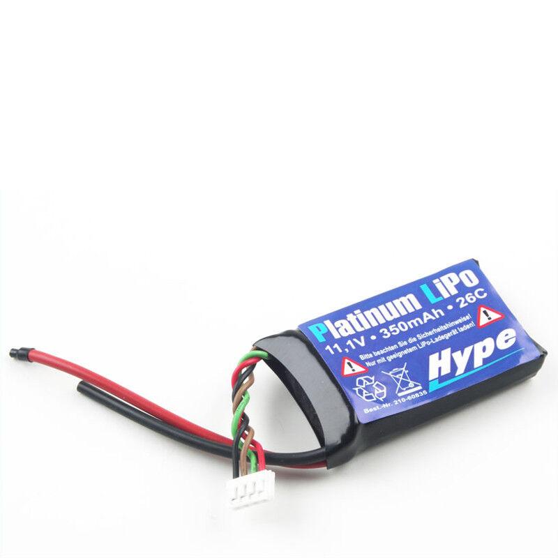 Battery Platinum 3S Lipo 11.1 V 350 mAh 26C Hype 210-60835 700654