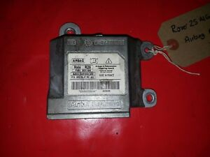 Rover-25-streetwise-mg-zr-air-bag-airbag-module-de-controle-ecu-YWC001180
