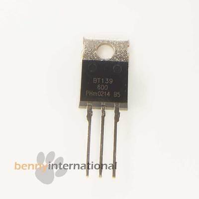 2 x bt139-600 TRIAC bt139600 PHILIPS to-220 2pcs