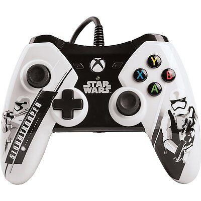 POWER A Xbox One Wired Controller Star Wars The Force Awakens - Stormtrooper
