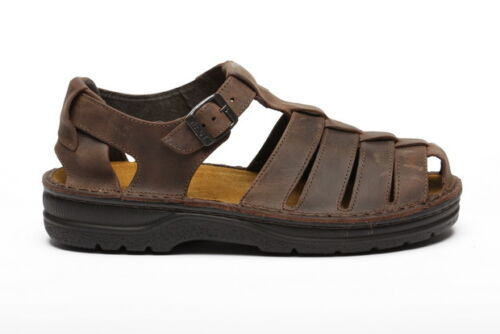 Naot Shakespeare Men Sandals Leather Shoes Slippers Slide New Slip On Outdoors