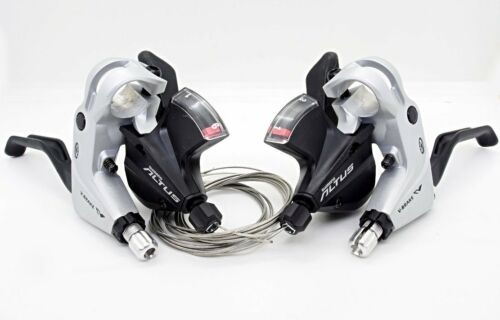 Shimano Altus ST-M370 MTB 3x9 Speed Shifter//Brake Dual Control Levers Set Silver