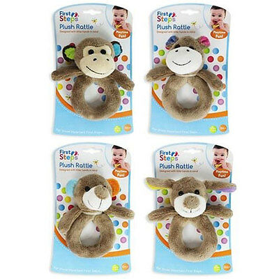 Cheap Price First Steps Baby Toys Rattle Neck Support Pillow Animal Themed - 3 Choices