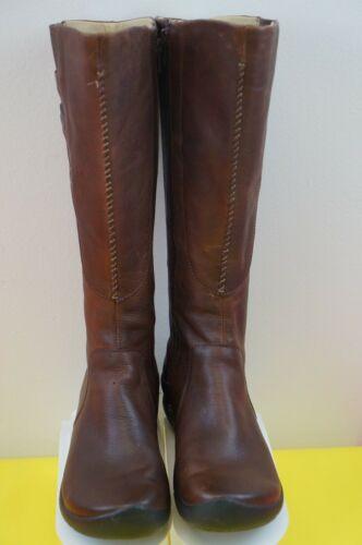 Keen Bern Baby High Women's Boots Sz 7.5 Brown Lea