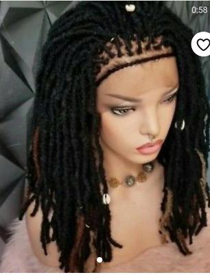 Short Dread Locs Short Faux Locs Dread Braids Wig