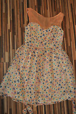 NEW LADIES SUMMER FLORAL Dress Doll & Frog @ Dorothy Perkins SIZE 10