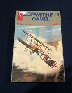 Hobby-Craft-HC-1681-SOPWITH-F-1-CAMEL-WW-I-Fighter-1-32-Scale-model-kit