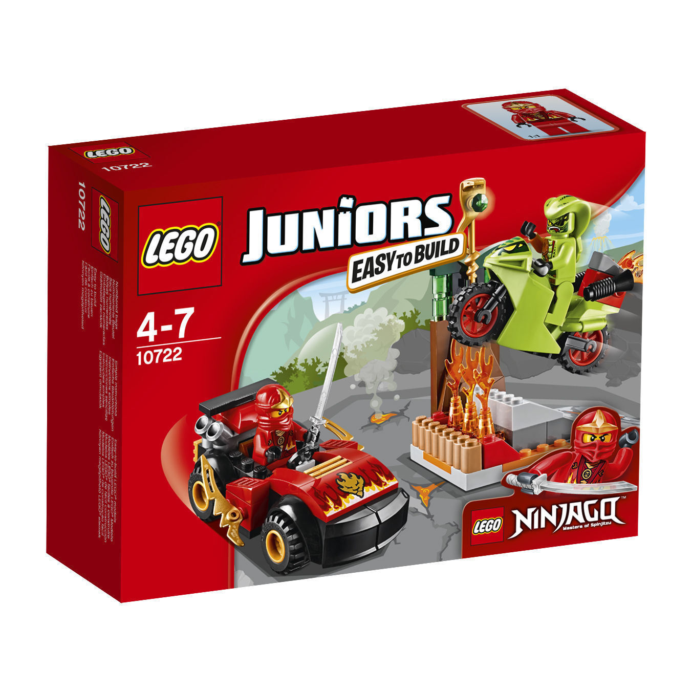 Lego Juniors 10722 Ninjago Snake Showdown - New Sealed Sealed Sealed 219cab