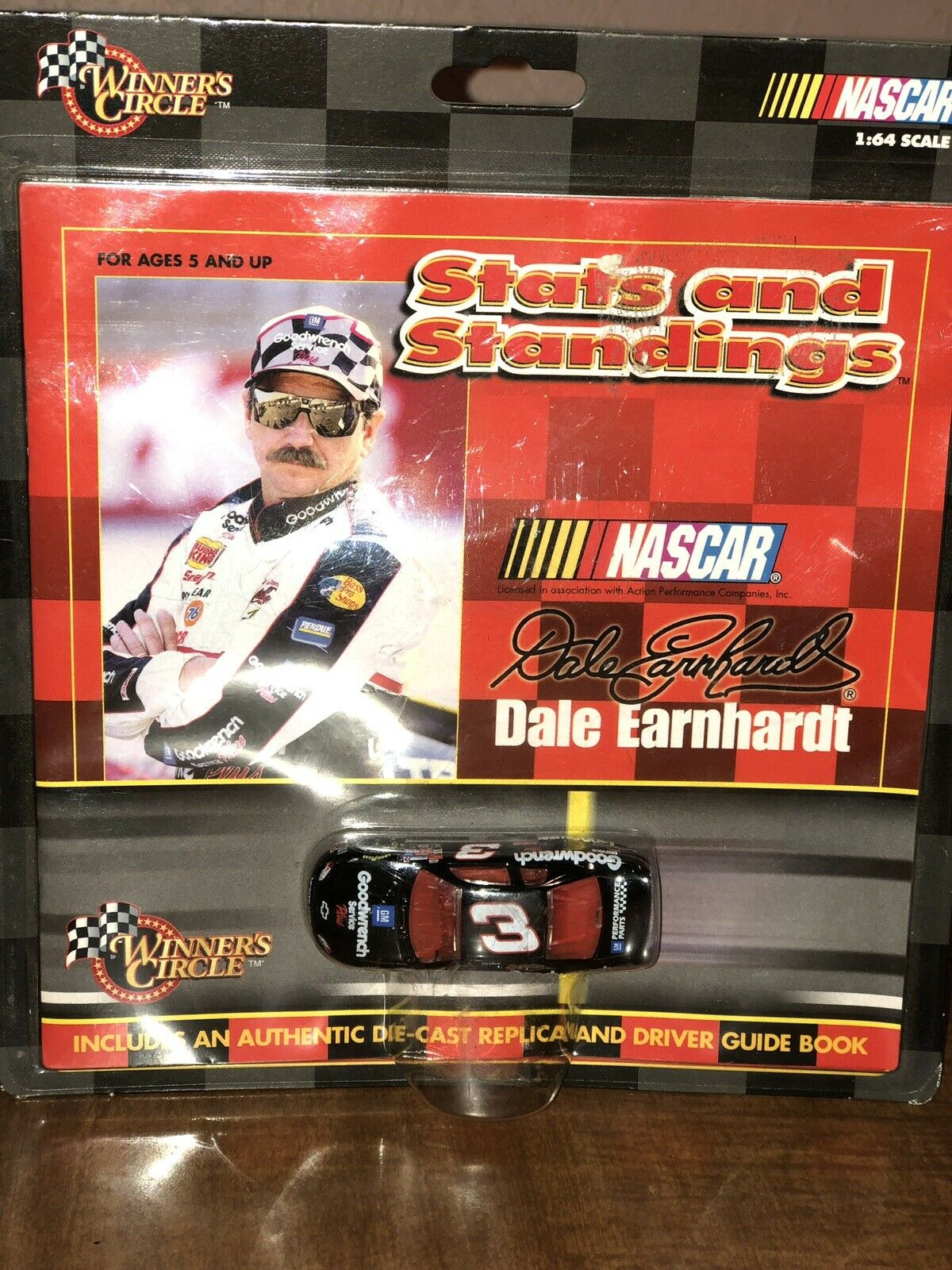 Winners circle Stats And Standings dale earnhardt sr.
