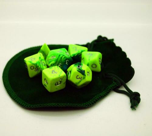 Small Dice Bag GREEN