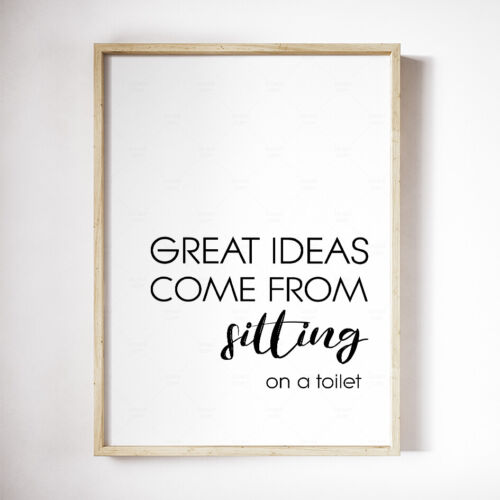Motivational Prints Inspirational Posters Funny Quotes Modern Wall Art A3//A4