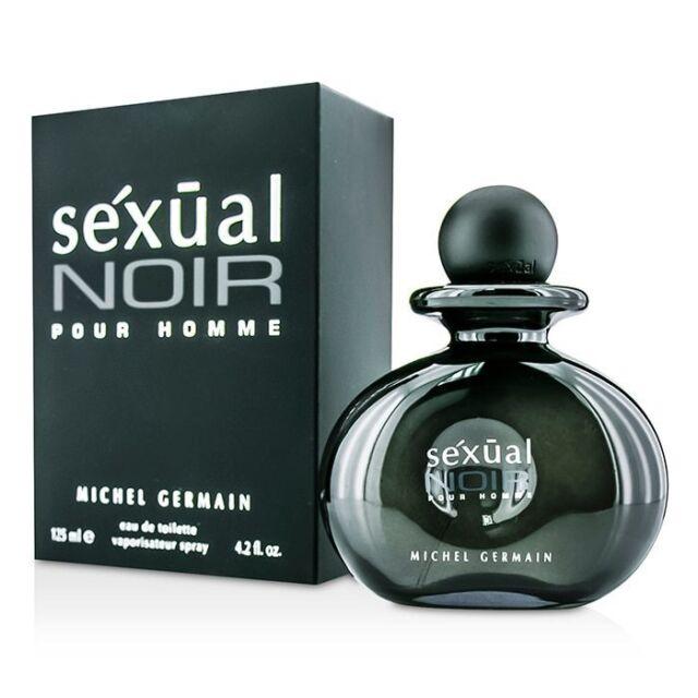 Michel Germain Sexual Noir Eau De Toilette Spray 125ml Mens Cologne