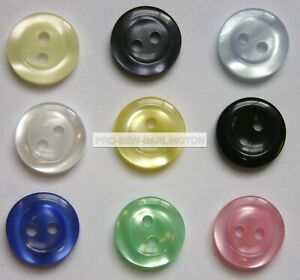 Size 18-11mm size 22-14mm Choice of Colour /& Quantity Star Buttons