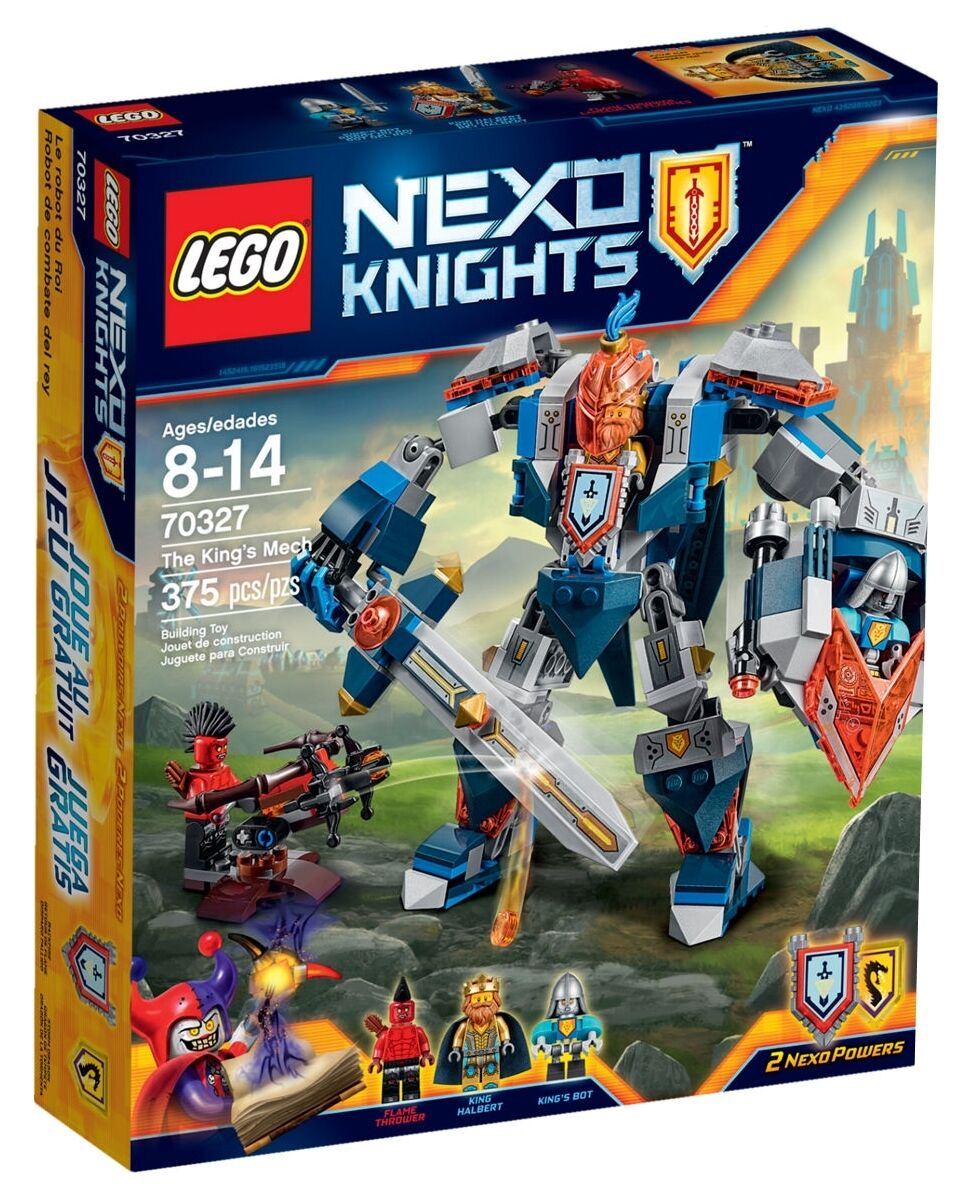 LEGO 70327-LEGO Nexo Knights-il mech del re-re Halbert-SPADA-NUOVO-NEW