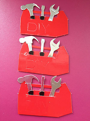 PK 25 GOLD HORSESHOE EMBELLISHMENT DIE CUTS FOR CARDS /& CRAFTS