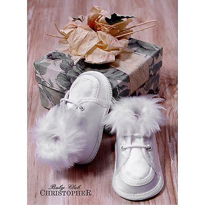 Taufschuhe Babyschuhe Ballerina Mädchen Satin Taufe Hochzeit 17 18 19 20 NEU **